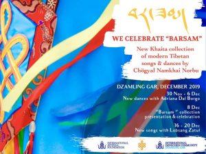 "Celebrate ""Barsam"" at Dzamling Gar – The New Khaita Collection from Chögyal Namkhai Norbu"