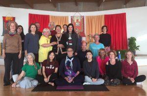 Breathing with Presence at Dzamling Gar