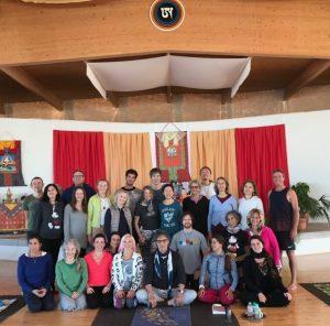 In Depth Training and Eight Movements Teacher Training at Dzamling Gar