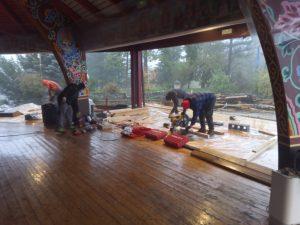 Update on the Maintenance of the Merigar Gönpa