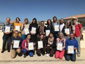Graduation Third Level Diet and Behavior Course at Dzamling Gar