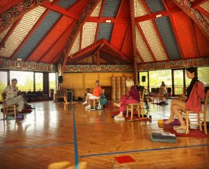 Yoga In A Chair At Merigar West