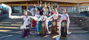 Losar Khaita Performance at Dzamling Gar