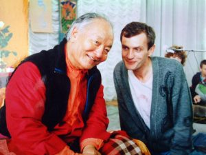 Chögyal Namkhai Norbu's first visit to Russia and Baltic States