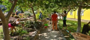 Many Hands Make Light Work at Dzamling Gardens