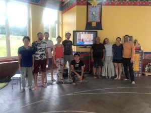 Yantra Yoga with Fabio Andrico at Kunsangar South