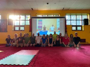 Online Retreat with Fabio Andrico at Kunsangar North
