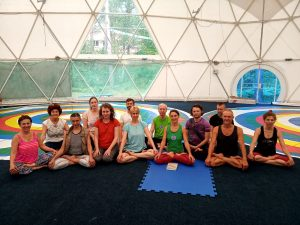 Yantra Yoga with Mira Mironova at Kunsangar North
