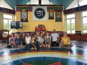 Yantra Yoga with Mira Mironova at Kunsangar South