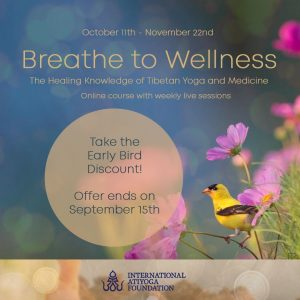 Breathe to Wellness! Online Course with Menpa Phuntsog Wangmo and Fabio Andrico