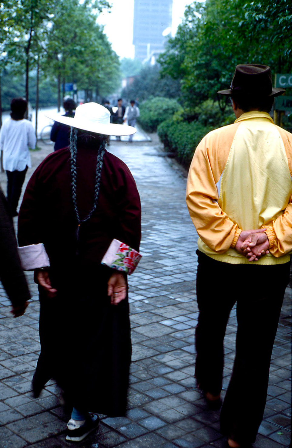 Chögyal Namkhai Norbu in Chengdu in 1988
