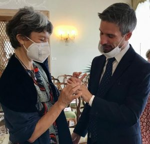 Married – Marco Baseggio and Alessandra Fornero in Venice, Italy